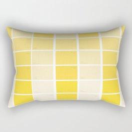 paintchips yellow Rectangular Pillow