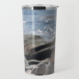Balancing Serenity Rocks Travel Mug