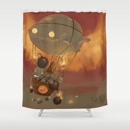 Goblin Balloon Brigade Shower Curtain