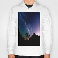 milky way Hoodies featuring the milky way. by 2sweet4words Designs