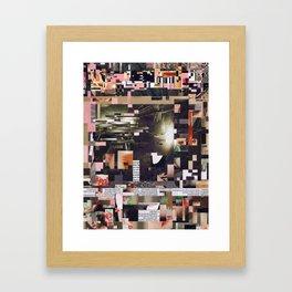 Insertion Framed Art Print