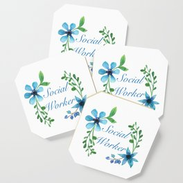 Social Worker For Women Social Worker Gifts Coaster