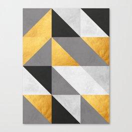 Gold Composition I Canvas Print