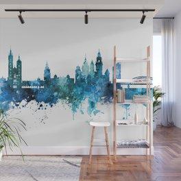 Krakow Poland Skyline Wall Mural