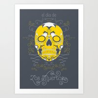 Sugar Skull (Day of the Dead) Art Print