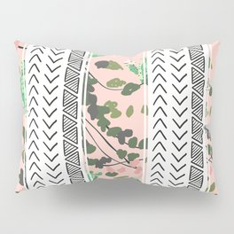 Pattern flowers and cactus Pillow Sham