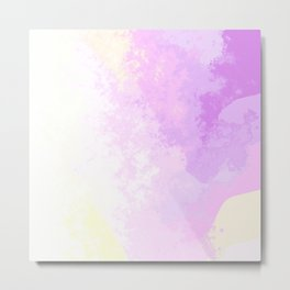 Abstract unicorn color splash Metal Print