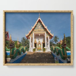 Wat Suwan Khirikhet, Karon Temple, Phuket, Thailand Serving Tray