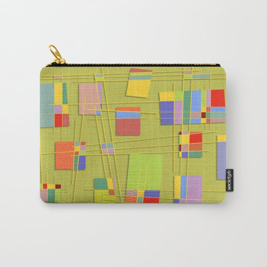 Abstract #47 Carry-All Pouch