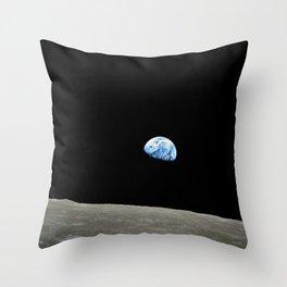 Earthrise Throw Pillow