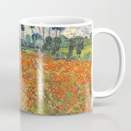 Poppy Field by Vincent van Gogh, 1890 painting Coffee Mug
