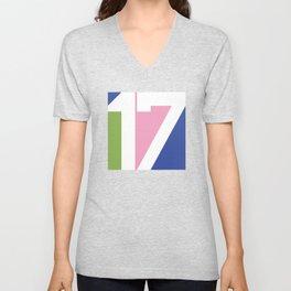 17 Unisex V-Neck