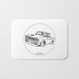 Crazy Car Art 0188 Bath Mat