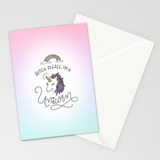 Bitch Please, I'm a Unicorn Stationery Cards