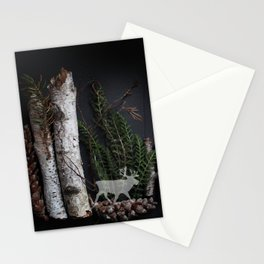 Birch Island in the Northwoods Stationery Cards