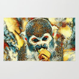 AnimalArt_Monkey_20180204_by_JAMColorsSpecial Rug