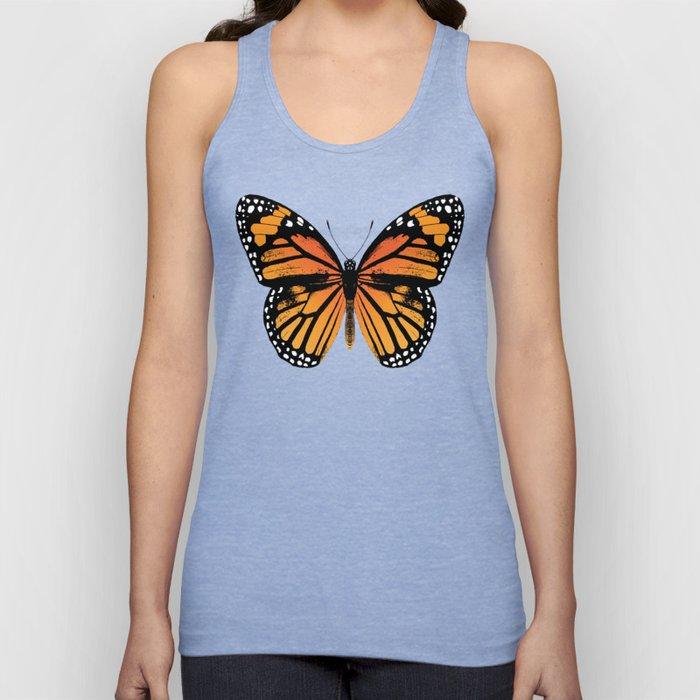 Monarch Butterfly | Vintage Butterfly | Unisex Tanktop