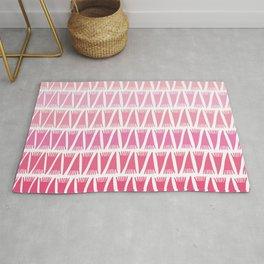 Tee Pee Pink Gradient Rug
