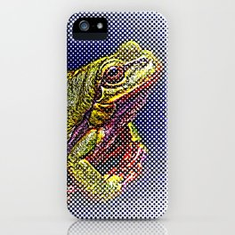 The InFocus Happy Frog Collection IV iPhone Case