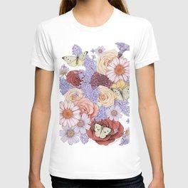 Roses, Lilacs, and Daisies T-shirt
