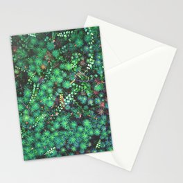 Emerald Cosmos Stationery Cards