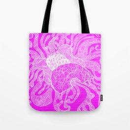 CRAZY ELEPHANT PINK Tote Bag