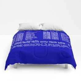 Bluescreen Comforters