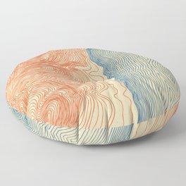 Jackson Lake Floor Pillow