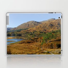 Glenfinnan Autumn Colors in Scotland Laptop & iPad Skin