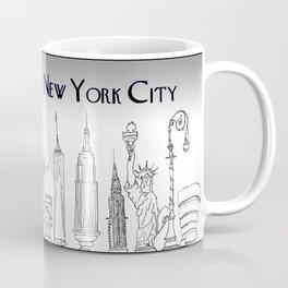 Landmarks of New York Coffee Mug