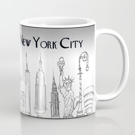 Landmarks of New York Coffee Mug