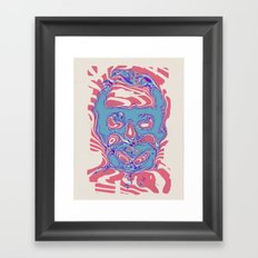 romeros masque Framed Art Print
