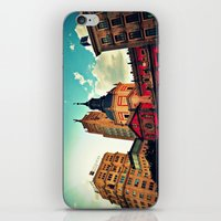 madrid iPhone & iPod Skins featuring Madrid Sky by Melanie Ann