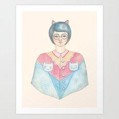 Shinobu Art Print