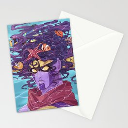 Star Fishes Stationery Cards