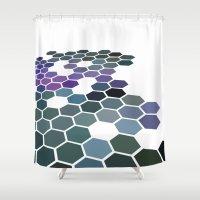 arizona Shower Curtains featuring Arizona by Bakmann Art