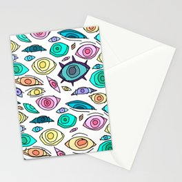 Cosmic Eyes On You Stationery Cards