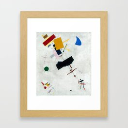 Suprematism by Kazimir Malevich Framed Art Print