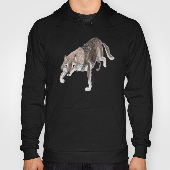 Totem Russian Wolf Hoody