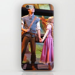 Flynn Rider and Rapunzel, Mickey and the Magical Map at Disneyland iPhone Skin