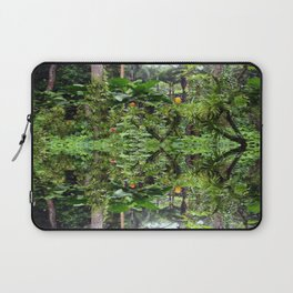 Singapore Botanical Garden 1 - Double Vision Laptop Sleeve