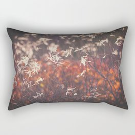 Red autumn Rectangular Pillow