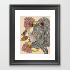 Olive and Hank Framed Art Print