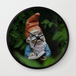 Gartenzwerg - Garden Gnome - Goblin Wall Clock