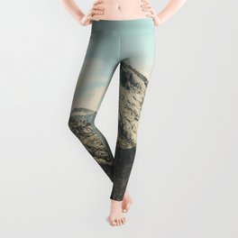 Yosemite Valley Waterfall Leggings