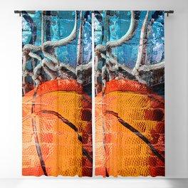 Basketball art swoosh vs 14 Blackout Curtain