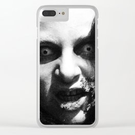 CREEPY K Clear iPhone Case