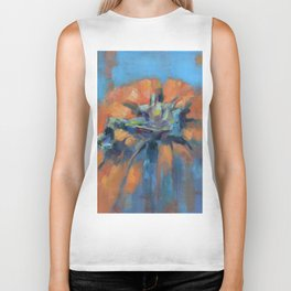 Pumpkin Biker Tank