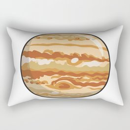 Jupiter Icon Rectangular Pillow