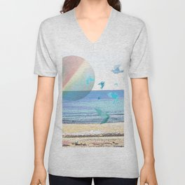 CHASING DOWN A DREAM Unisex V-Neck